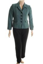 Suit Studio New Womens Garden Grove Notch Collar Pant Suit   14 - $39.99