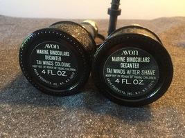 70s Avon Marine Binoculars Decanter cologne/after shave bottles set (Tai Winds) image 3