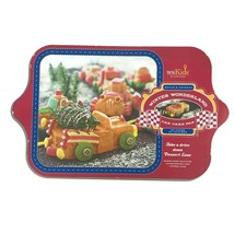 WS Kids Williams Sonoma Winter Wonderland 8 Car Cake Pan Nordicware Mad... - $22.98