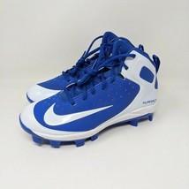 Nike Alpha Huarache Pro Mid MCS BG Baseball Cleats - $36.47