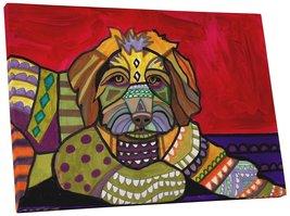 "Pingo World 0708QB0DXKY ""Heather Galler Aussie Doodle Dog"" Gallery Wrapp... - $53.41"
