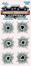 Glass Bullet Holes - $8.45
