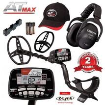 Garrett AT Max Metal Detector with Free Accessory Bundle & More ~ 2 Yr W... - $13.770,47 MXN