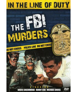 IN THE LINE OF DUTY - The FBI Murders  Ronny Cox  Bruce Greenwood ALL RE... - $9.15