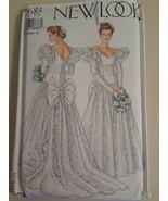NEW LOOK PATTERN - 6683 LADIES WEDDING DRESS 6 - 16 UNCUT  - $5.93