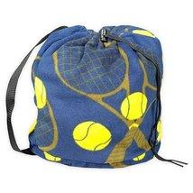 Tenis Fleece Sling Bag - Navy - $12.99