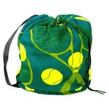Tenis Fleece Sling Bag - Green - $12.99