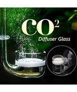 Aquarium CO2 Diffuser Glass Aquatic Refiner Atomizer Bubble Reactor Fish Tank - $8.69