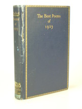 1923 ERNEST HEMINGWAY Best Poems of 1923 L.A.G. Strong VERY EARLY TITLE - $82.49