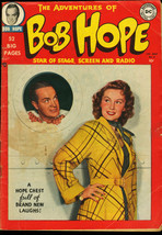 Adventures Of Bob Hope #2-PHOTO CVR-1950-DC Vg - $230.38