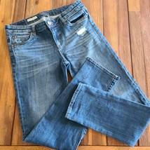 KUT from the Kloth Blue Catherine Boyfriend Stretch Denim Jeans Womens 8 - $26.00