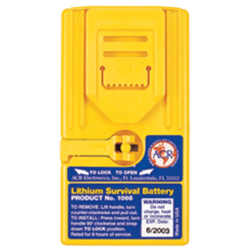 ACR Survival Battery f/2626, 2727 & 2726A GMDSS Radios