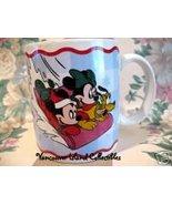 MINNIE MICKEY MOUSE PLUTO Souvenir Cup Mug WALT DISNEY - $6.99