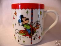 MICKEY MINNIE MOUSE DONALD DUCK Mug Cup Walt Disney Souvenir Childs Drinking