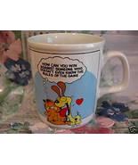 Vintage GARFIELD Coffee CUP MUG ENESCO Jim Davis CAT Collector Souvenir - $9.95
