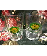 Schmitt Sohne Sonnenqualitat Wine Shot Glass set of 2 Germany Tasting Te... - $7.99