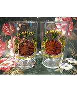 Schloss Heidelberg Germany Wine Shot Glass set of 2 German Collectible - $6.99