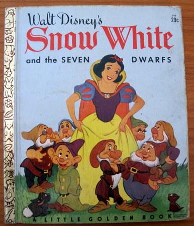 A Little Golden Book Walt Disney Snow White 1948 D66