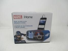 Captain America Dual Alarm Clock and 30-pin iPod Speaker Dock MC-M23.2 - $69.29