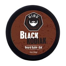 GIBS Black Kodiak Beard Balm-Aid, 2 oz image 1
