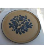 "Pfaltzgraff FOLK ART ROUND CAKE PLATTER Plate TRAY USA 12 3/4"" - £28.70 GBP"