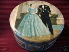 Huntley Palmers Biscuits Cookie Tin QUEEN ELIZABETH II PRINCE PHILIP Sou... - £10.63 GBP