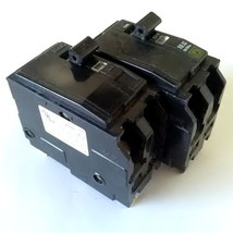 Lot of 2 Square D 2 Pole 20 Amp HACR Type Circuit Breaker - $15.99