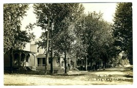 3rd Street Waynesville Ohio Real Photo Postcard - $27.79