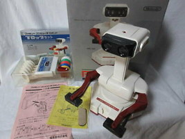 Working Products Nintendo Family Computer Robot Block Set With Original Box - $329.03