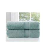 Loom Naturals 30% Viscose Bamboo 70% Cotton 4Piece Bath Towel set-Seafoa... - $24.74