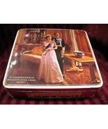 QUEEN ELIZABETH SILVER JUBILEE Adams Biscuits Cookies Tin VINTAGE Souvenir  - $14.95