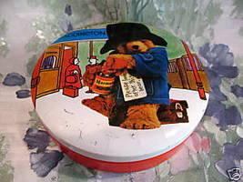 PADDINGTON BEAR Tin Souvenir Collector VINTAGE Collectible  - $9.95