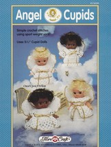 Angel Cupids, Fibre Craft Christmas Doll Clothes Crochet Pattern Booklet FCM299 - $4.95