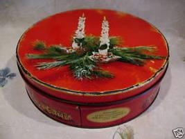 CHRISTMAS Cookie Tin CORONATION QUEEN ELIZABETH II Coronation 1953 Souvenir - $9.95