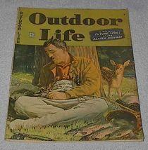 Outdoor Life Magazine June 1944 J.F. Kernan Cover Hunt Fish Boat - $12.95