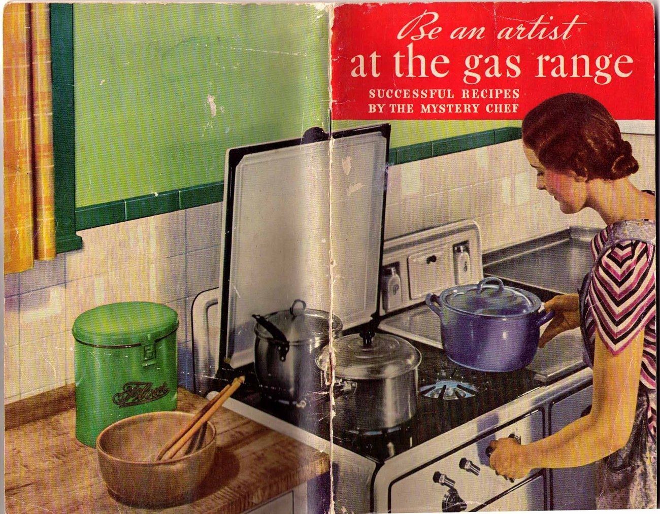 Be an Artist at the Gas Range - 1935 User Guide / Recipe Booklet