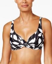 NEW Anne Cole Vines Black White Underwire Bikini Top size XS XSmall - $22.76