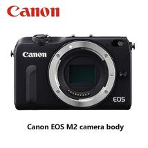 Used Canon Compact Digital EOS M2 camera Without lens and flash 18MP WIFI 8GB Me - $191.49+