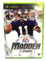Microsoft Game Madden 2002 - $3.99