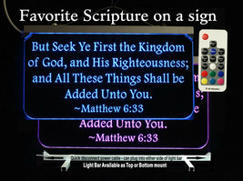 Personalized Christian Bible Verse Sign, Religious gift, Scripture - $96.03+