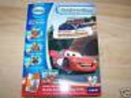 Vtech Create A Story Disney The World of Cars Lightning McQueen 2 Books Radiator - $17.00