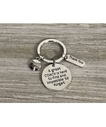 Softball Coach Keychain, Baseball Coach Keychain, Softball Gift, Great Coach Gif - €9,22 EUR