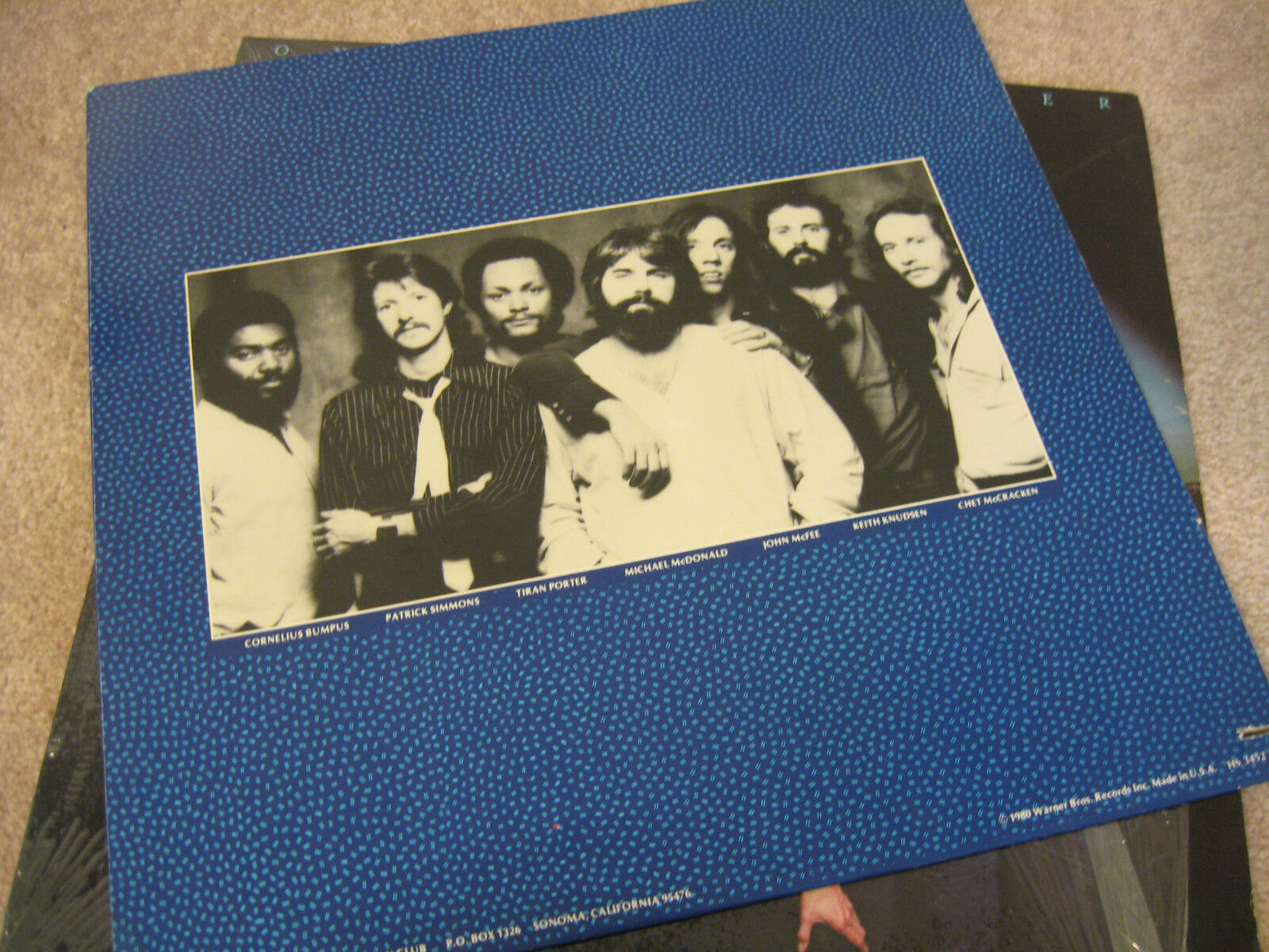 The Doobie Brothers One Step Closer Warner Bros HS3452 Stereo Vinyl LP image 3