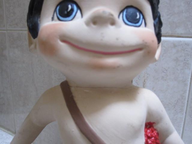 Vintage Cupid Figurine - valentine's day