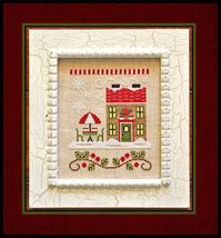 Hot Cocoa Cafe Release #12 cross stitch Country Cottage Needleworks - $5.40