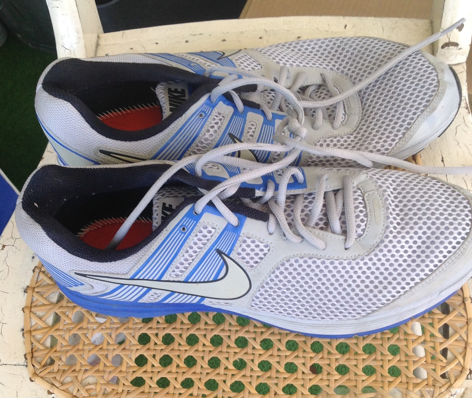 5acd48217236 Nike Zoom Structure 16 Men's and 50 similar items. Men s white blue zoom