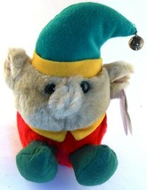 Elvin the Elf Puffkins Bean Bag Plush Limited Edition Christmas 1999 wit... - $5.93