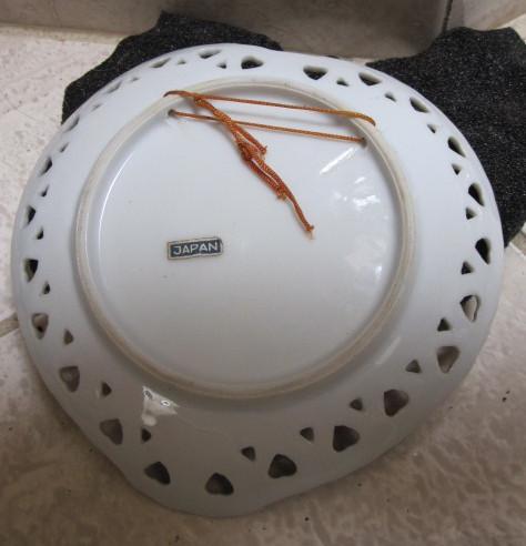 Vintage Porcelain Heart Dish circa 1940's