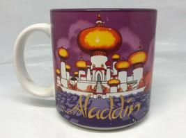 Disney Aladdin Vintage 1990s Coffee Tea Mug Made In Japan Genie, Jasmine, Jafar - $9.89
