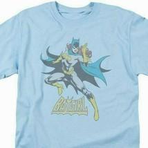 Batgirl T-shirt SuperFriends retro 80s cartoon DC blue graphic tee DCO553 image 1